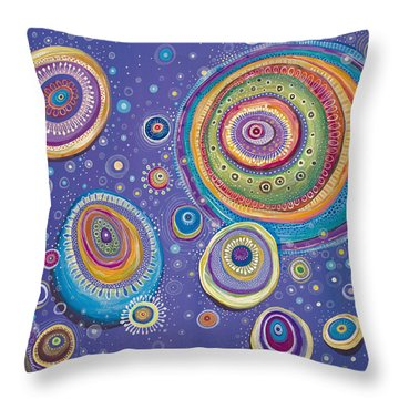 Magnetic Throw Pillow by Tanielle Childers