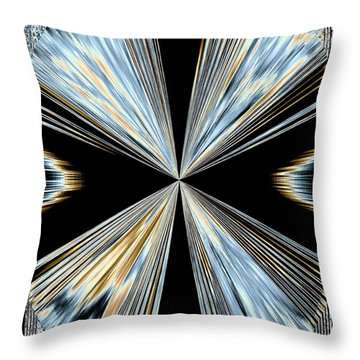 Magnetism 2 Throw Pillow by Will Borden
