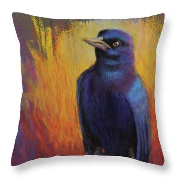 Magnificent Bird Throw Pillow