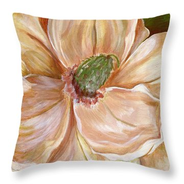 Magnificent Magnolia -1 Throw Pillow