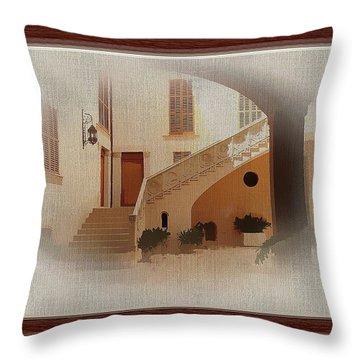 Magnificent Mexican Hacienda Throw Pillow