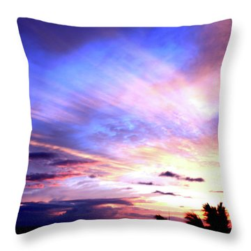 Magnificent Sunset Throw Pillow