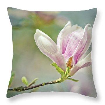 Magnolia Throw Pillows