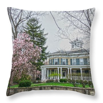 Magnolia Time Throw Pillow