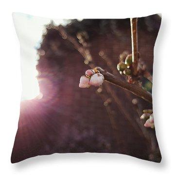 Magnolia To Be Throw Pillow
