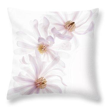 Magnolia Trio Throw Pillow