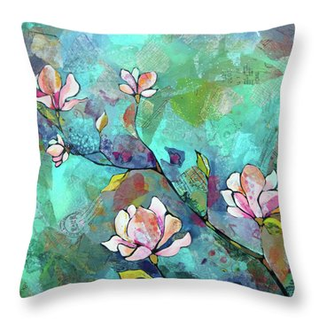Magnolia Throw Pillows