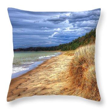 Magoon Creek North Throw Pillow
