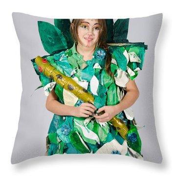 Mahko In The Jungle Book Throw Pillow