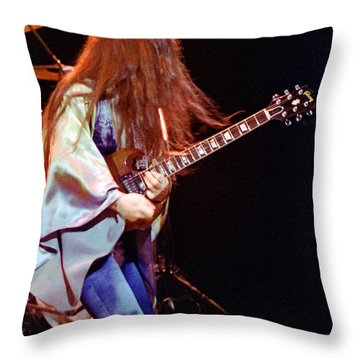 Mahogany Rush Seattle #2 With Text Throw Pillow