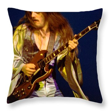 Mahogany Rush Seattle #3 Throw Pillow