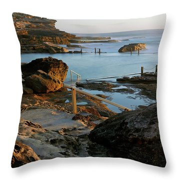 Mahon Pool Throw Pillow
