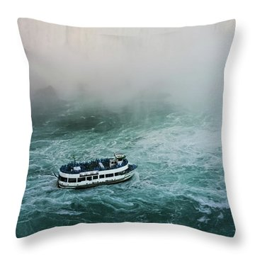Maid Of The Mist -  Throw Pillow