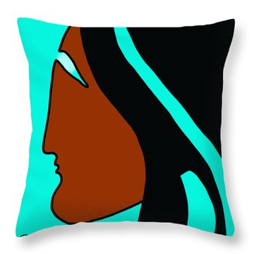 Maiden 2 Throw Pillow
