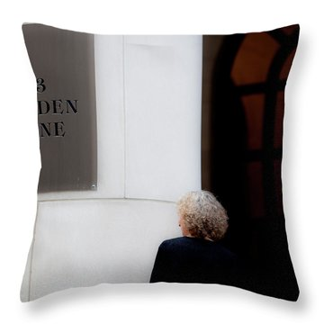 Maiden Throw Pillow
