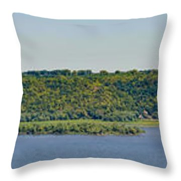Maiden Rock, Wi Throw Pillow