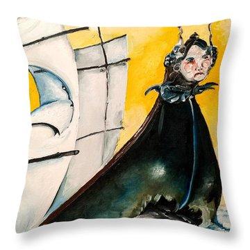 Maiden's Voyage Throw Pillow