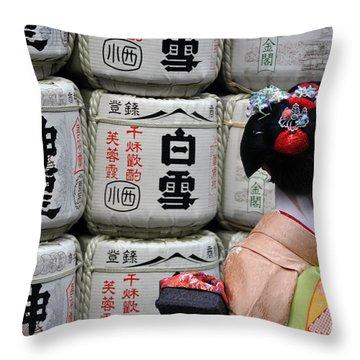 Maiko Throw Pillow