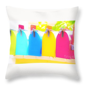 Mail For You Throw Pillow