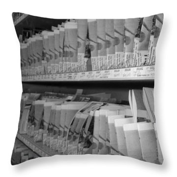 Mail Is Ready Throw Pillow by WaLdEmAr BoRrErO