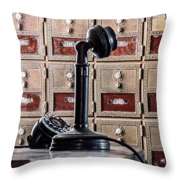 Mailbox 237 Throw Pillow