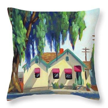 Maily House - Eagle, Idaho Throw Pillow