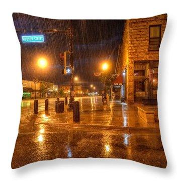 Main And Hudson Throw Pillow
