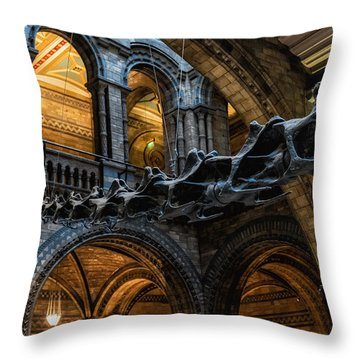 Main Man Throw Pillow