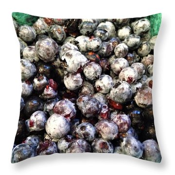 Throw Pillow featuring the photograph Maine Pearls by Olivier Calas