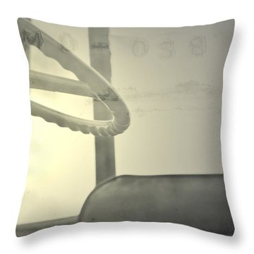 Throw Pillow featuring the photograph Maintenance  by Mark Ross