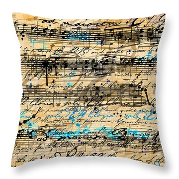 Maiorem Throw Pillow