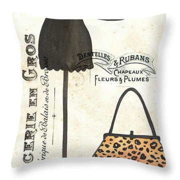 Maison De Mode 1 Throw Pillow