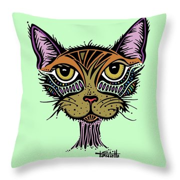Maisy Throw Pillow by Tanielle Childers