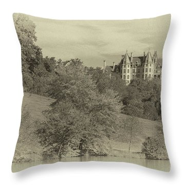 Majestic Biltmore Estate Throw Pillow