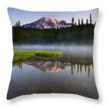 Majestic Dawn Throw Pillow by Mike  Dawson