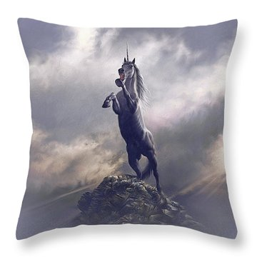 Majestic Dignity  Throw Pillow