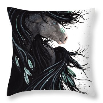 Majestic Dream Horse #138 Throw Pillow