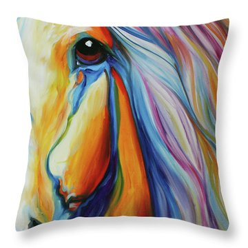 Majestic Equine 2016 Throw Pillow