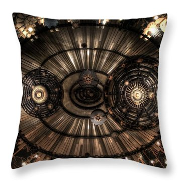 Majestic Heavens Throw Pillow