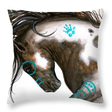 Majestic Horse #151 Throw Pillow