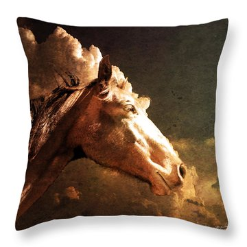Majestic Throw Pillow by Jeremy Martinson