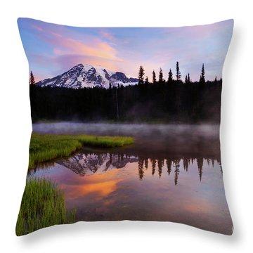 Majestic Lenticular Dawning Throw Pillow