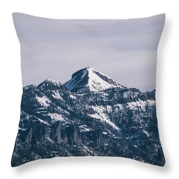 Majestic Morning On Pagosa Peak Throw Pillow