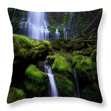 Majestic Proxy Throw Pillow by Bjorn Burton