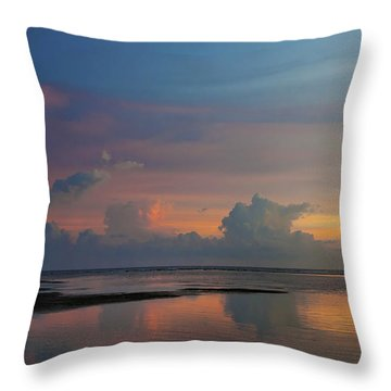 Majestic Rise Throw Pillow