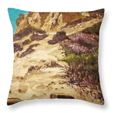 Majestic Rocks Throw Pillow