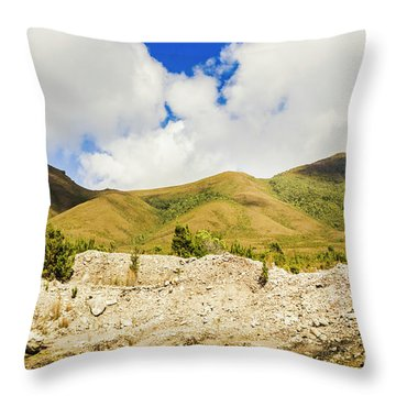 Majestic Rugged Australia Landscape  Throw Pillow