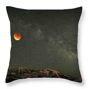 Majestic Sky Throw Pillow by Matt Helm