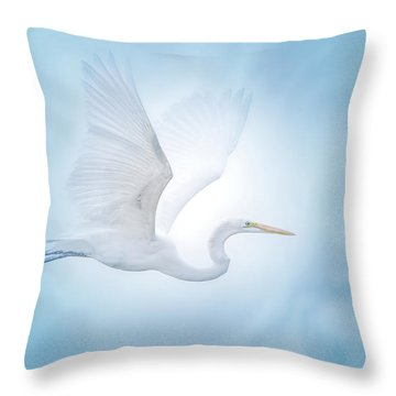 Majesty Of The Skies Throw Pillow by Mark Andrew Thomas
