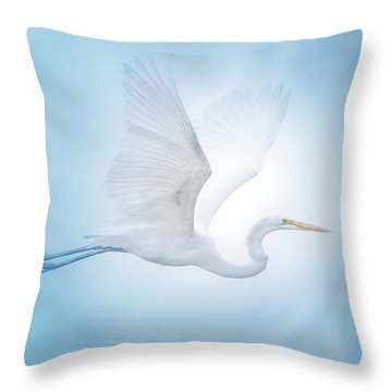 Majesty Of The Skies Throw Pillow